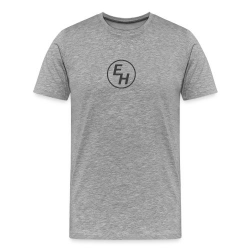 Emil Hagman logo - Premium-T-shirt herr