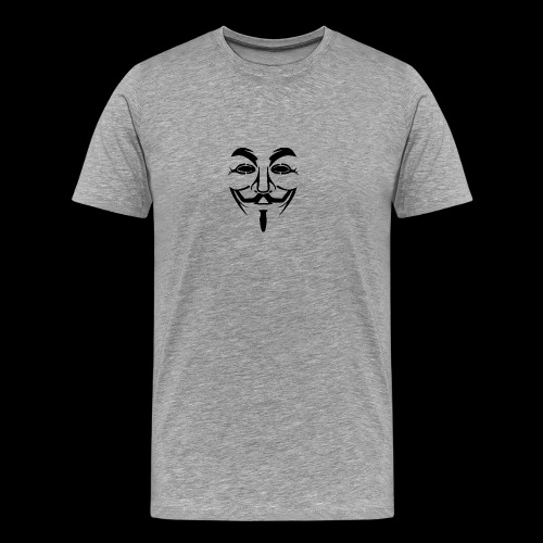 Anonymous Mask - T-shirt Premium Homme