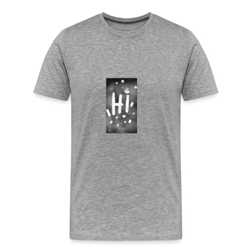 Hola o hi nublado - Camiseta premium hombre