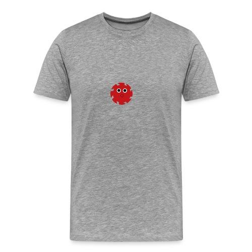 NGD Logo Klein (Zwart) - Mannen Premium T-shirt