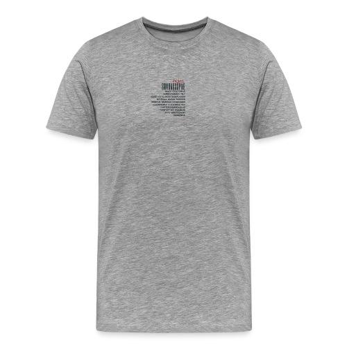 Ja til søndagsåpne mennesker! - Premium T-skjorte for menn