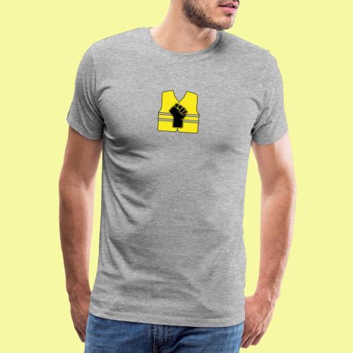 logo gilet poing - T-shirt Premium Homme