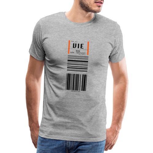 Flughafen Wien VIE - Männer Premium T-Shirt