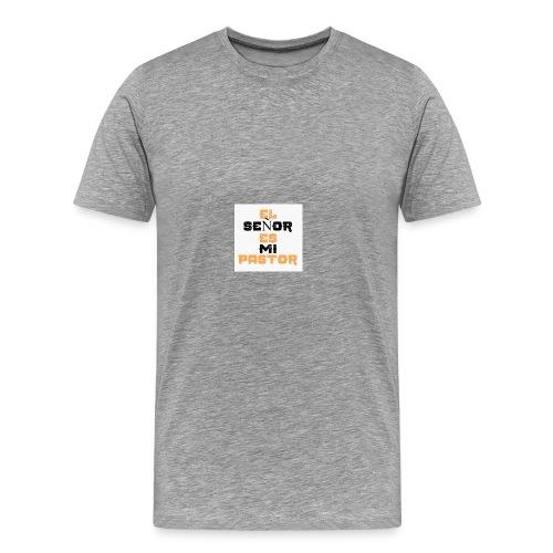 El señor es mi pastor - Camiseta premium hombre