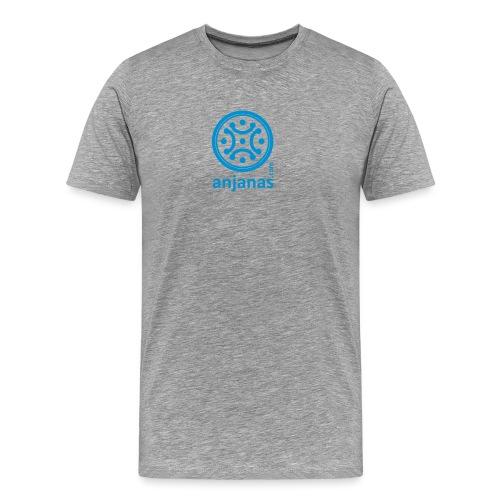 anjanas azul - Camiseta premium hombre