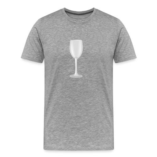 Wijn - Mannen Premium T-shirt
