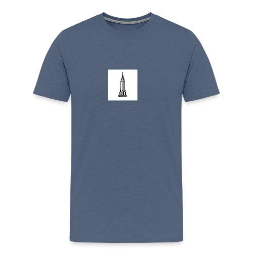 Empire State Building - T-shirt Premium Homme