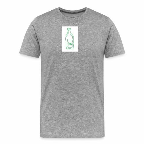 Alkoholi - Miesten premium t-paita