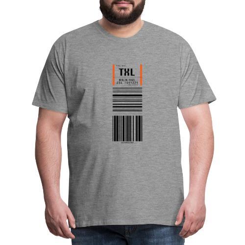 Berlin-Tegel TXL - Männer Premium T-Shirt