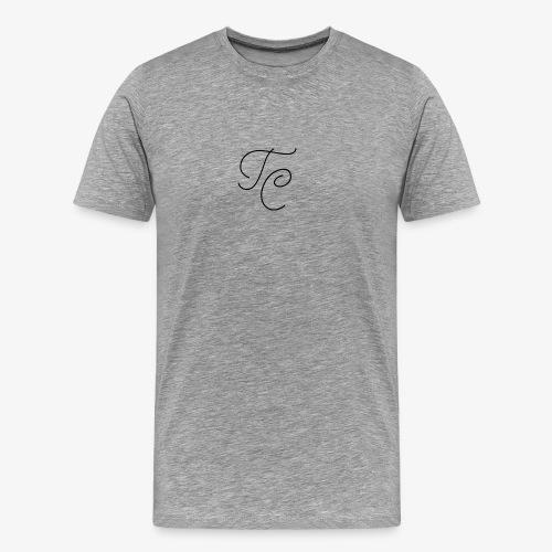 LOGO TC NERO - Maglietta Premium da uomo