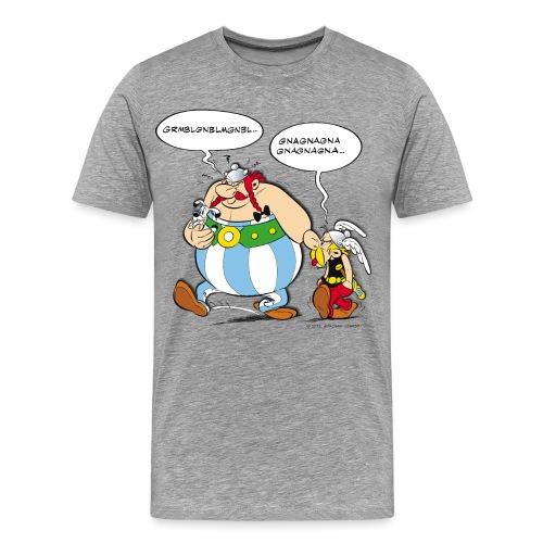 Asterix & Obelix boudeur - T-shirt Premium Homme