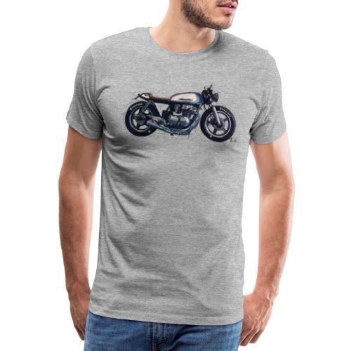 Caferacer! - Premium T-skjorte for menn