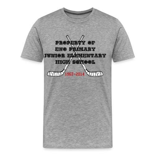 Kaikki koulut samassa paketissa - Miesten premium t-paita