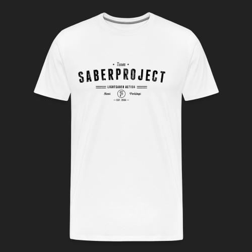 Vintage Lightsaber Action - Männer Premium T-Shirt