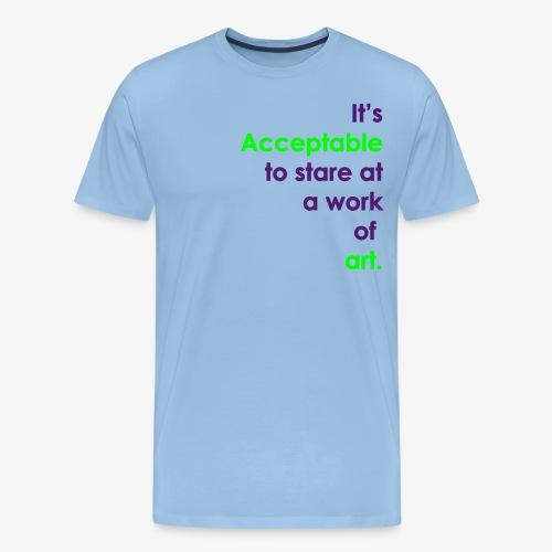 itsacceptable - Men's Premium T-Shirt