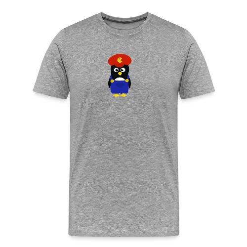 Pingouin Mario - T-shirt Premium Homme