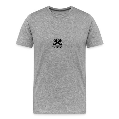 schnauzbart und brille in der Limitierten Edition - Männer Premium T-Shirt
