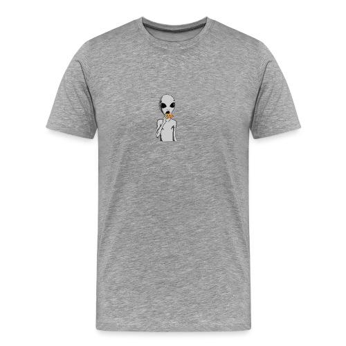 PIZZA ALLIEN HARVZ - Men's Premium T-Shirt