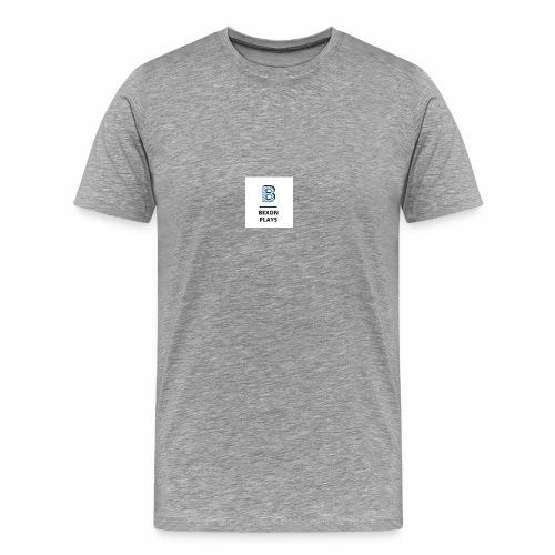 Bexon plays logo merch - Men's Premium T-Shirt