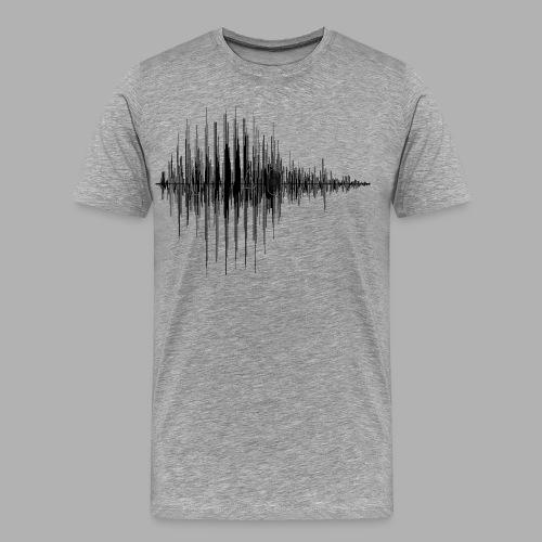 TDIMAGES ONDA VOCALE ciao2 - Maglietta Premium da uomo