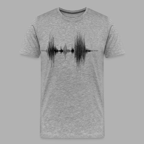 TDIMAGES ONDA VOCALE MòKIKA - Maglietta Premium da uomo