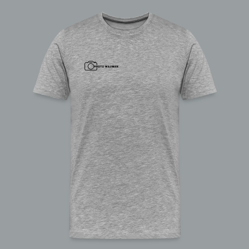 PHOTO WAUMAN Big Logo - Mannen Premium T-shirt