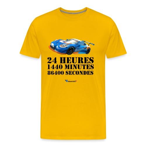 T-Shirt Premium Hommes 24 Heures - T-shirt Premium Homme