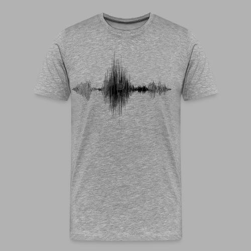 TDIMAGES ONDA VOCALE mi piaci - Maglietta Premium da uomo