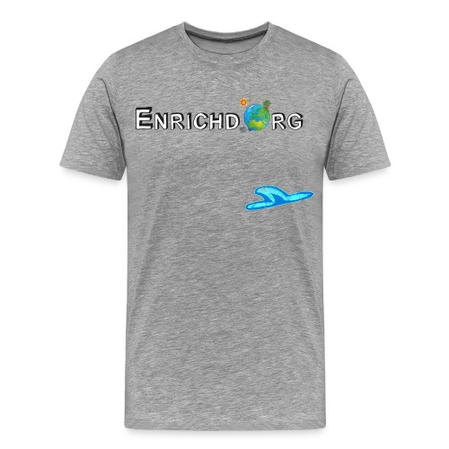 ENRICHD NEW LOGO 2017a TRANS png - Men's Premium T-Shirt