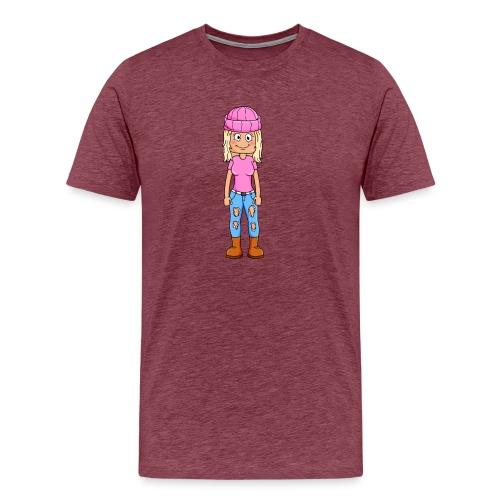 Yumi gaming tryck - Premium-T-shirt herr