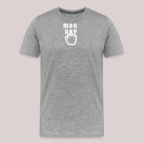 26-30 Lazy Monday - Männer Premium T-Shirt