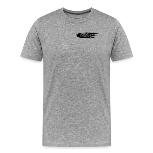 itz ellzy swiped logo - Men's Premium T-Shirt