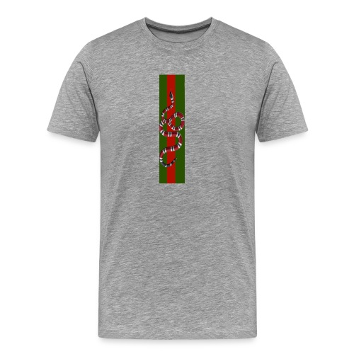 Black duo - Premium-T-shirt herr