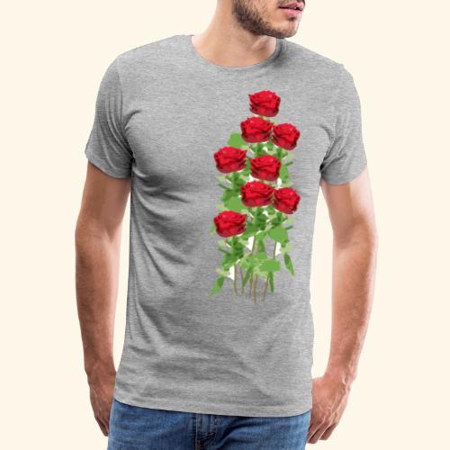rote rosen - Männer Premium T-Shirt