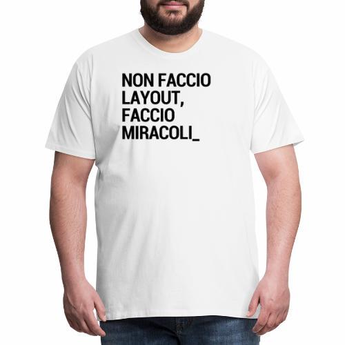 Art director - Maglietta Premium da uomo