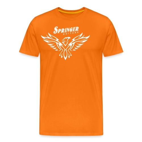 Springer FireHawk white - T-shirt Premium Homme