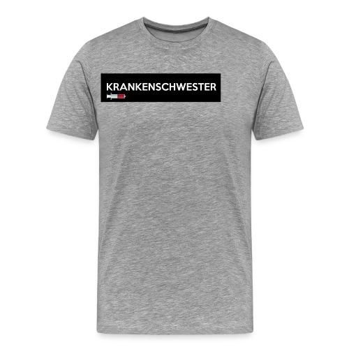 Krankenschwester mit Spritze - Männer Premium T-Shirt