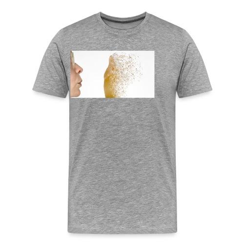 Pustezahn - Männer Premium T-Shirt