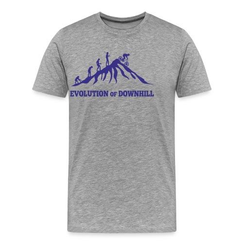Evolution Downhill Biking - Männer Premium T-Shirt