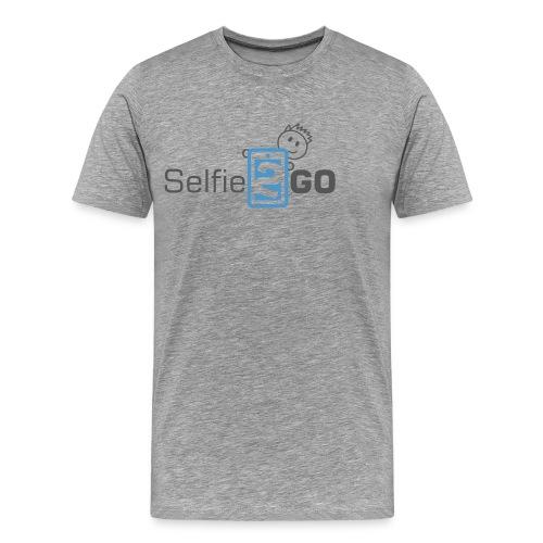 selfie2go - Männer Premium T-Shirt