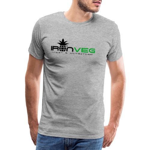 IRONVEG - Maglietta Premium da uomo