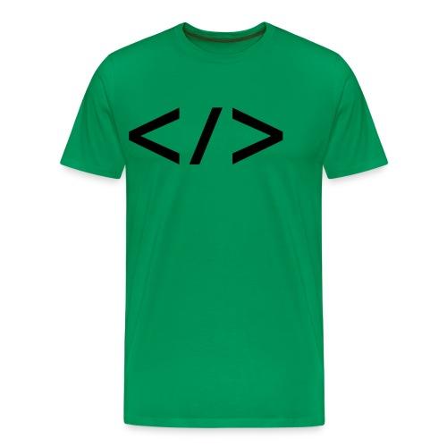 Webdev - Männer Premium T-Shirt