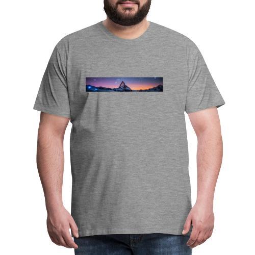 Mountain sky - Männer Premium T-Shirt