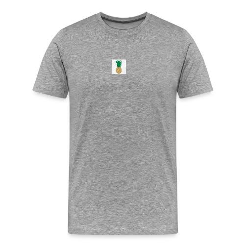 PINEAPPLE SHIRT - Herre premium T-shirt