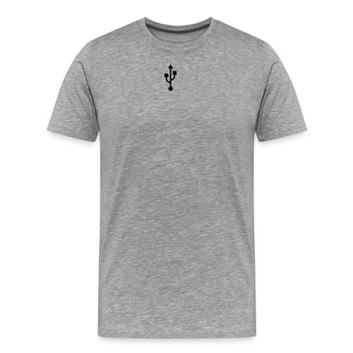 usb - Men's Premium T-Shirt