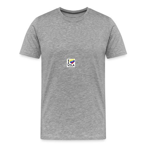 yo amo venezuel - Camiseta premium hombre