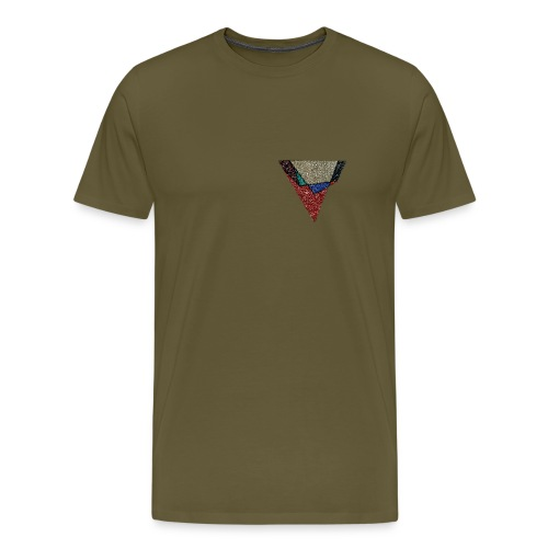 Flip Side Graphite Logo - Men's Premium T-Shirt