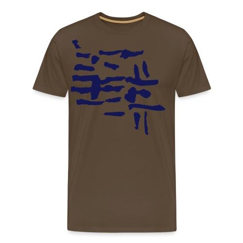 Structure / pattern - VINTAGE abstract - Men's Premium T-Shirt