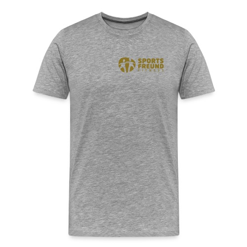Sportsfreund Fitness_white - Männer Premium T-Shirt