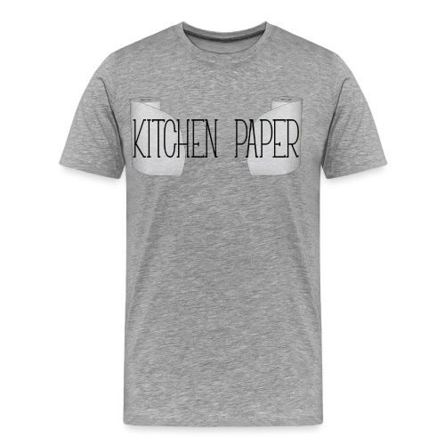 Kitchen Paper - Mannen Premium T-shirt
